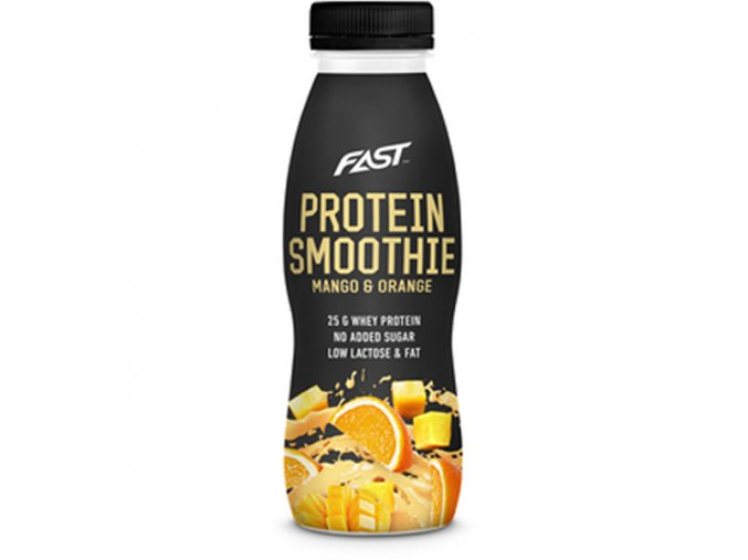 fast protein smoothie mango orang insidefit cz