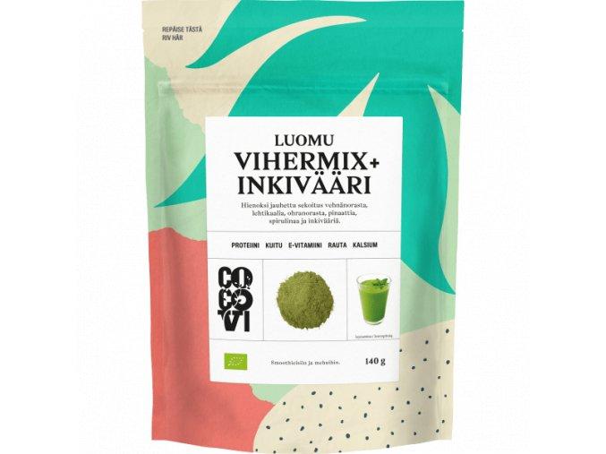 cocovi zelenymix zazvor 140 g insidefit cz