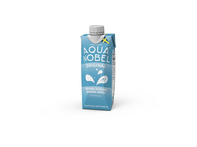 Aqua Nobel Alkalická Pramenitá Voda Originál - 500ml
