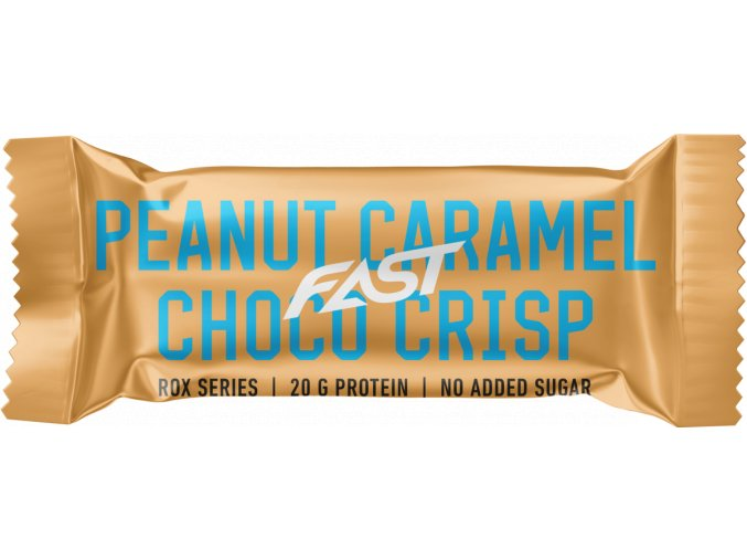 FAST ROX Peanut caramel choco crisp 55g