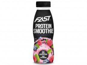 Fast Protein Smoothie Blueberry Raspberry - 330ml