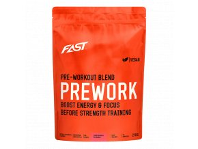 Fast Pre - Workout Red Berries - 210g