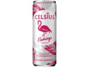 Celsius Energetický Nápoj Flamingo Tropical 355 ml insidefit cz