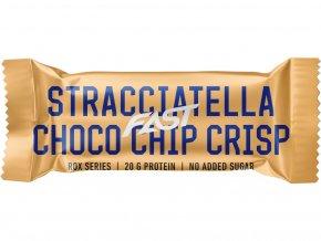 Fast Rox Proteinová Tyčinka Stracciatella Choco Chip Crisp - 55g