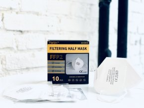 Filtering half mask