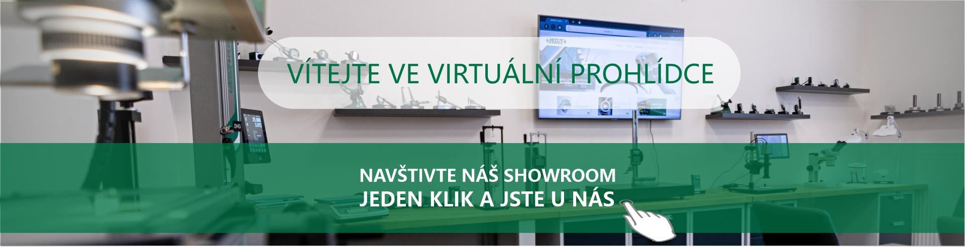 Virtuální prohlídka INSIZE Showroom