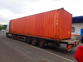 Lodní kontejner '' 40 '' TRITON