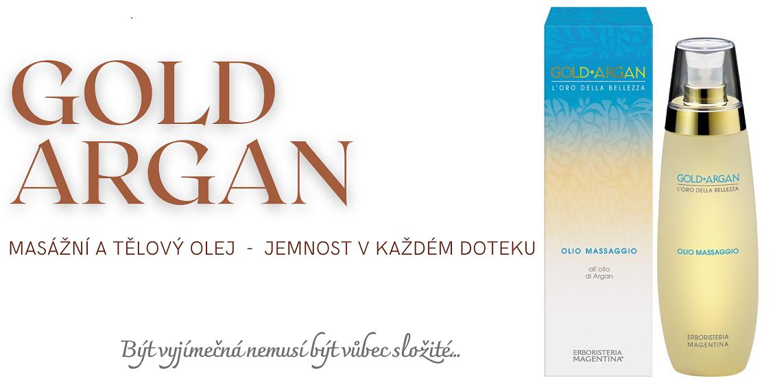 GOLD ARGAN Tělový olej