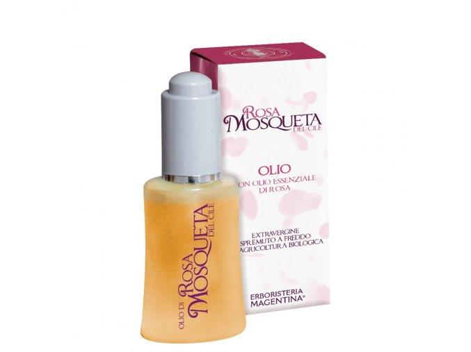 olio puro 99 rosa mosqueta profumato alla rosa