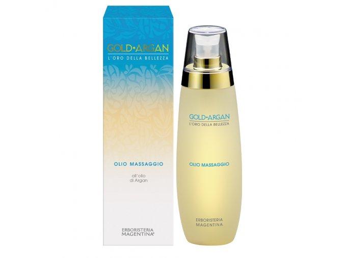 olio massaggio gold argan 200 ml