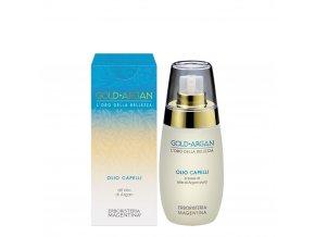 olio capelli gold argan 100 ml abbronzatura protezione sole
