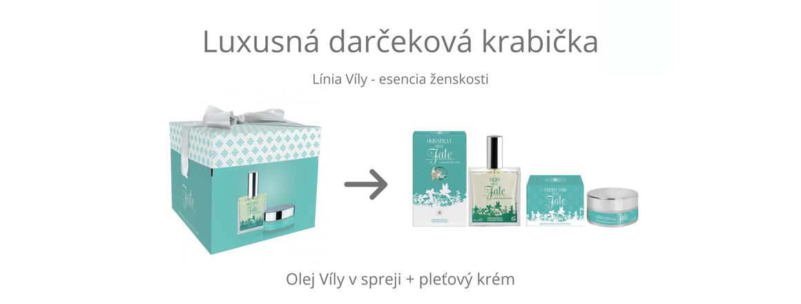 Darčeková krabička Víly