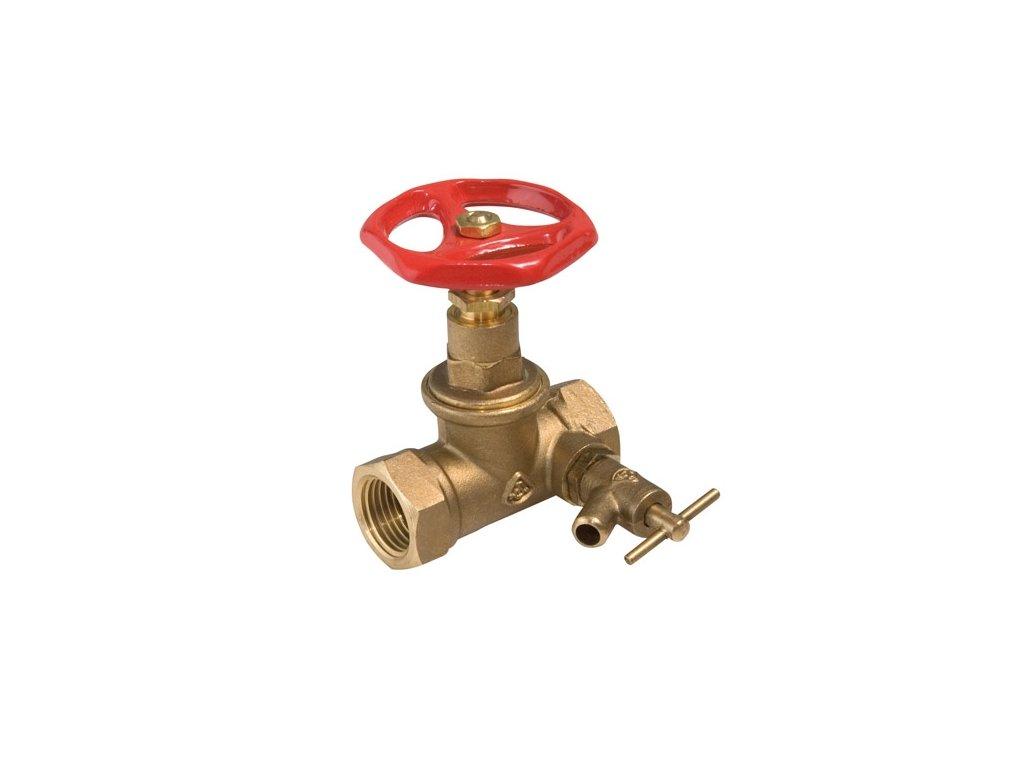 kkvst ventil uzavírací s odvodněním