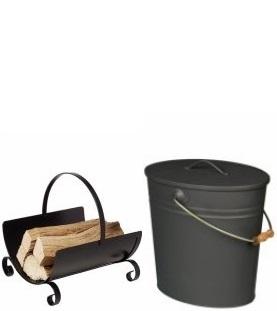 Koše a nádoby na popol