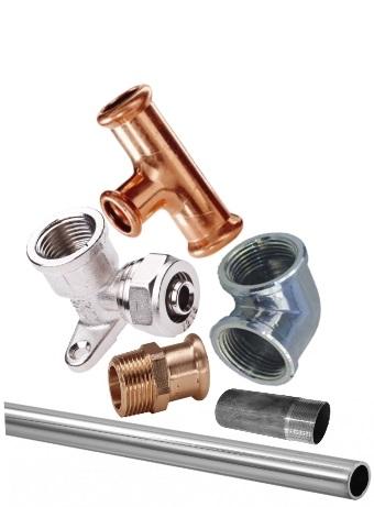 Tvarovky, rúry a trúbky na vodu a vodovodné potrubie