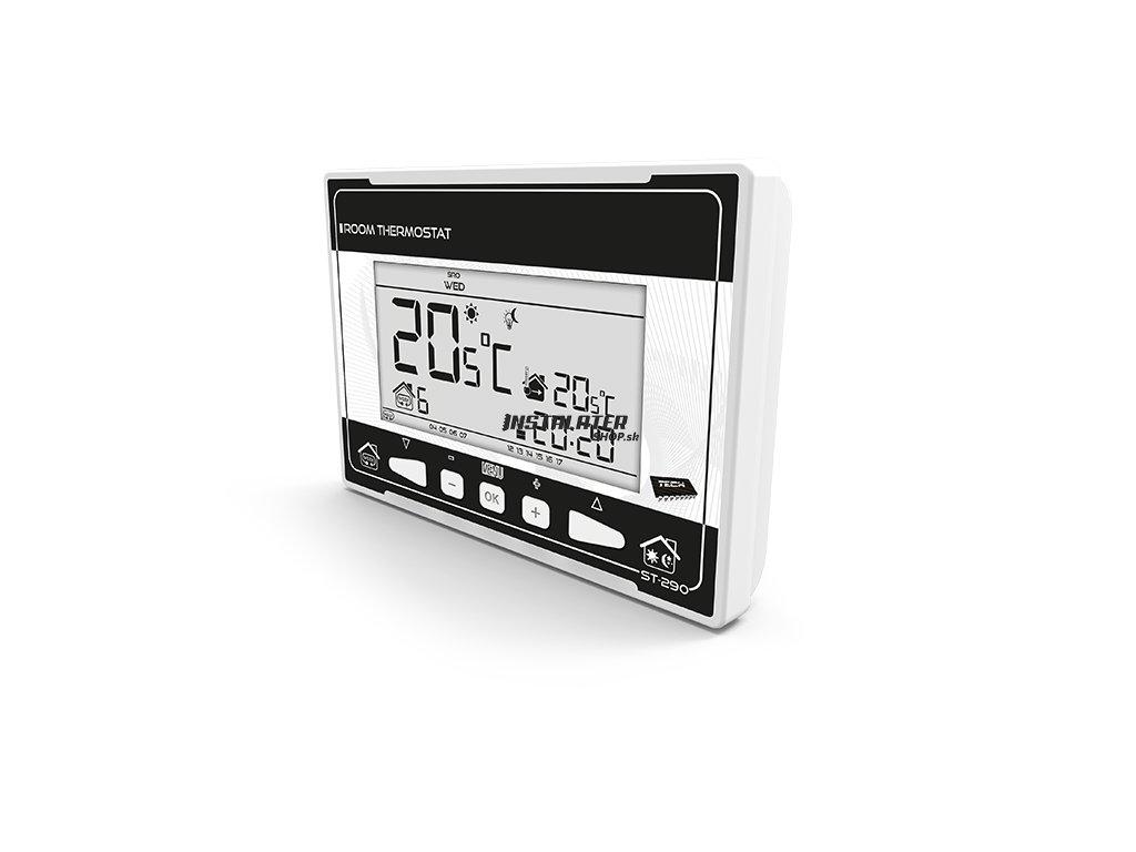 Programovateľný drôtový termostat CS-290v3