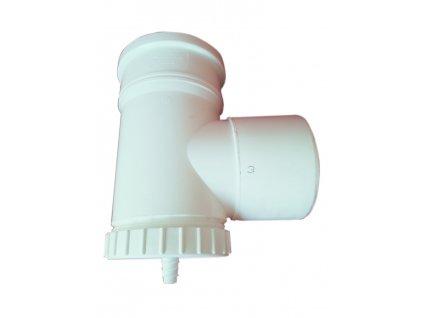 T-kus revízny s odvodom kondenzátu DN 160