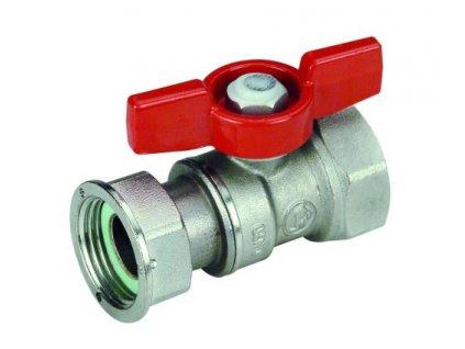instalace rozvody giacomini r251p kulovy kohout s prevlecnou matici pro vodomery 3 4 x3 4 r251py004