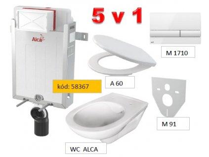 WC SET A115 RENOVMODUL 5v1 M1710+M91+A60+P169/dávkovač