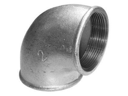 Liatinove pozinkovane tvarovky koleno 90 FP090