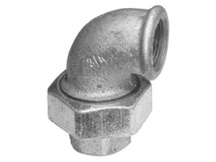 Liatinove pozinkovane tvarovky srobenie rohove 90 FP095