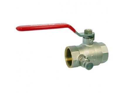 gulovy ventil s odvzdusnovakom