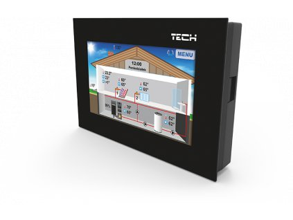 Programovateľný drôtový RS termostat CS-281