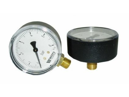 MHA63/4 Manometer 63mm, 0-4 bar zadný 1/4""