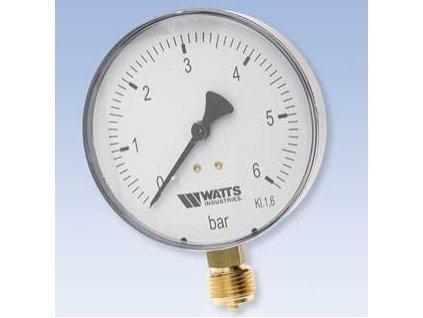 """MDR100/10 Manometer 100mm, 0-6 bar spodný 1/2"""""""