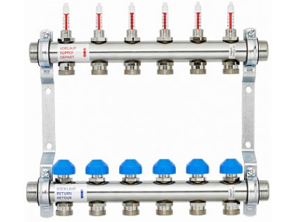 52. stainless steel manifolds 1 with 0 4lm flow meters en1264 complient