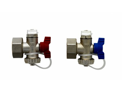 nickle plated quatro end sets with fill drain valve