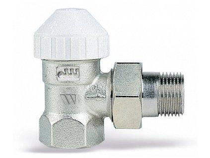 Termostatický ventil radiátorový rohový