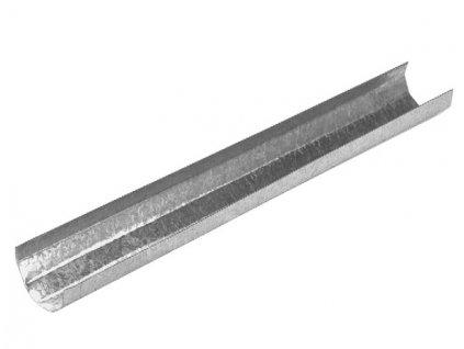 Zlab podpurny pozinkovany 25 x 2000 mm 020 v