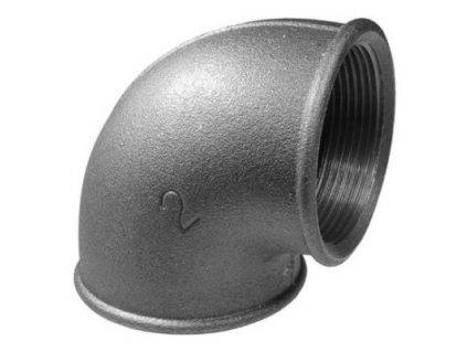 Liatinove cierne tvarovky koleno 90 FC090