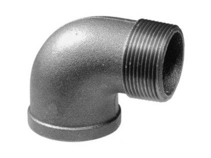 Liatinove cierne tvarovky koleno 90 MF FC092