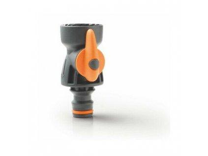rubinetto a sfera con regolatore di flusso 3 4 irrigazione giardino gf garden P 6543141 13732273 1
