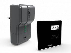Manuálny bezdrôtový termostat TECH CS-294v2