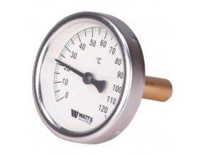 """T80/75 Teplomer 80mm s jímkou 0-120°C, jímka 75mm 1/2"""""""