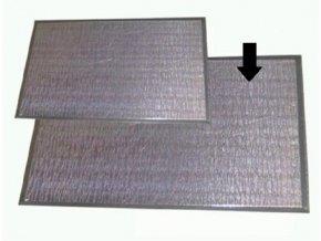 Žiaruvzdorná zástena REFLEX veľká so stojanom, 920x610x180 mm