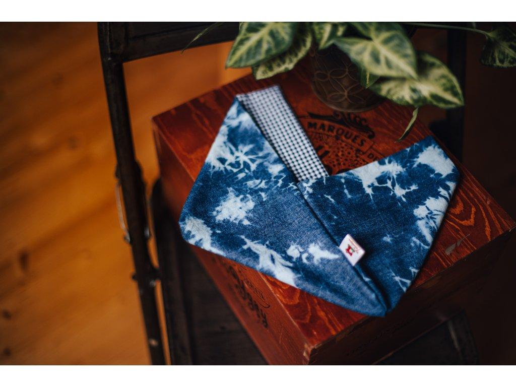 Bento bag - džíny + kostka