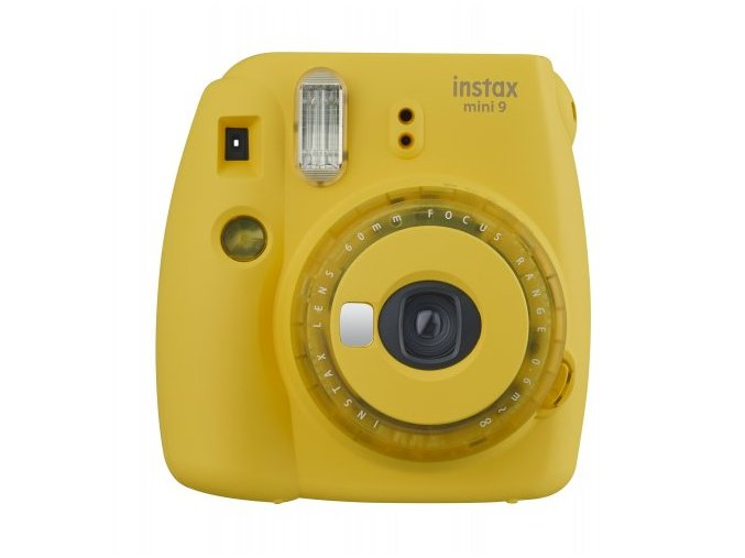 instax mini 9 clear zluty