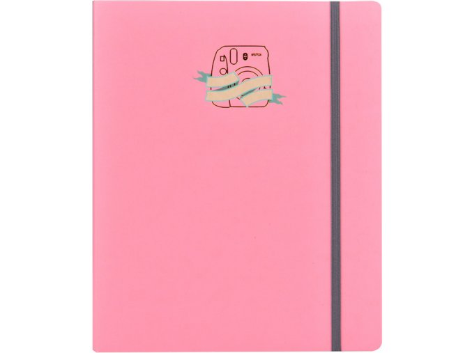 Fujifilm WPS Accordion Scrapbook Pink