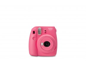 mini 9 pink front on shot on white