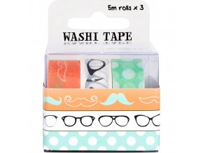Fujifilm Wps Washi Tape Pack - Fashion (3 Rolls)