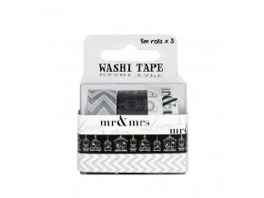 Fujifilm Wps Washi Tape Pack - Wedding (3 Rolls)