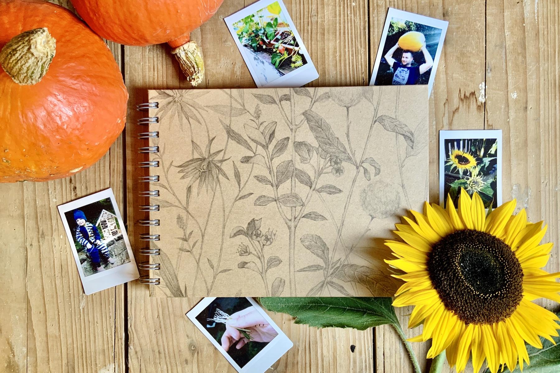 Vytvořte si neobyčejný zahradní deník