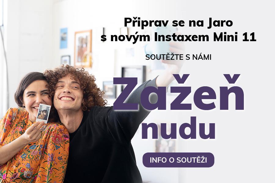 Soutěž o novinku Instax Mini 11