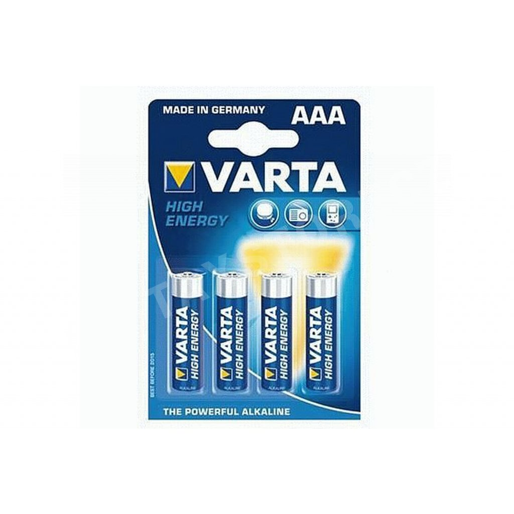 Baterie Varta AAA, 4ks/blistr