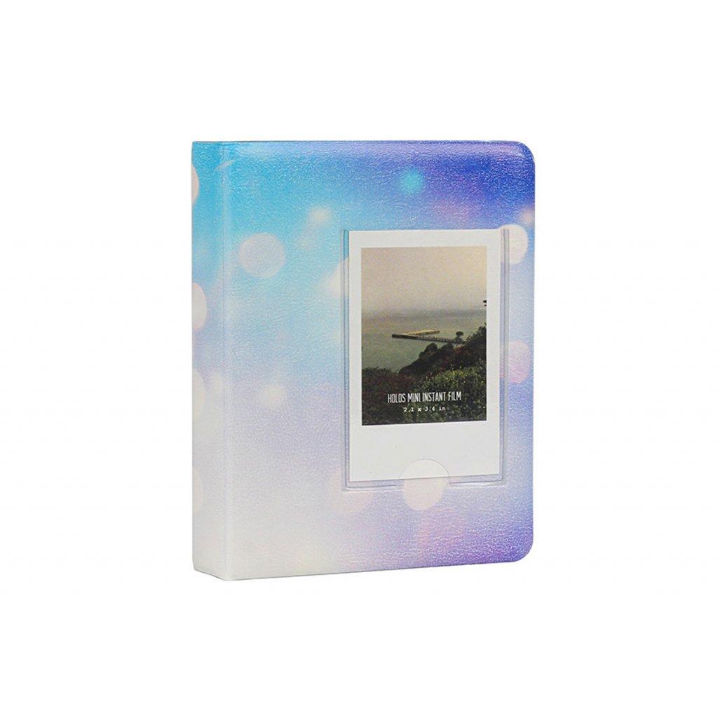 Instax Mini Pocket Album Starry Sky Light Blue