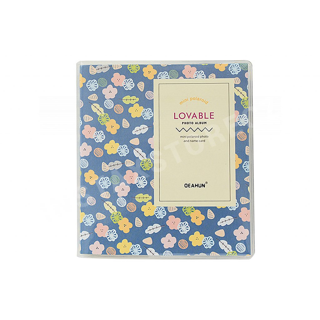 Instax Mini Pocket Album Colorful Dark Blue